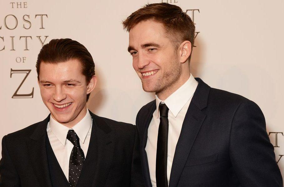 nueva película Tom Holland Robert Pattinson