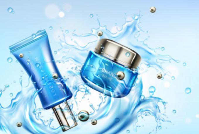 Productos de belleza libres de agua