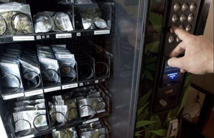 Máquina expendedora de cannabis, un negocio que creció durante la pandemia