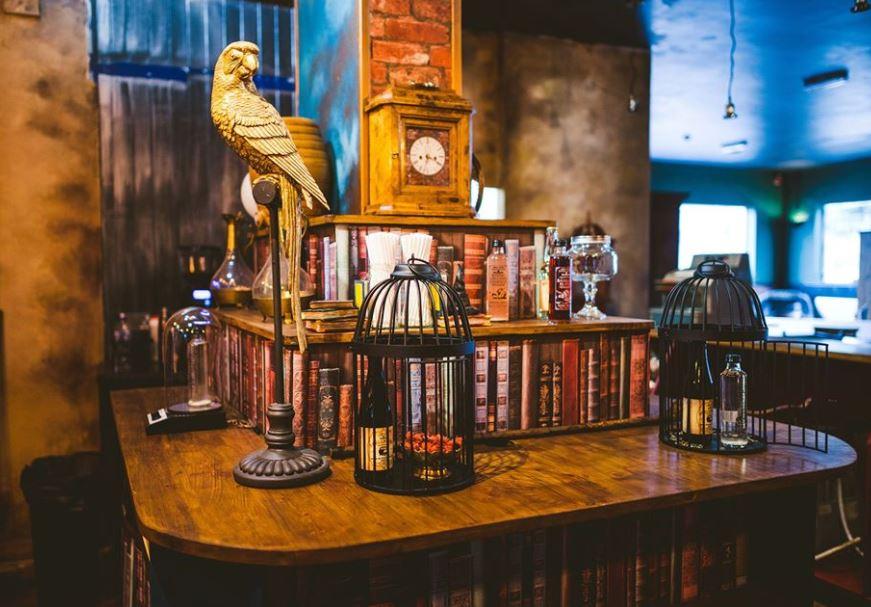 Salón de té inspirado en Harry Potter