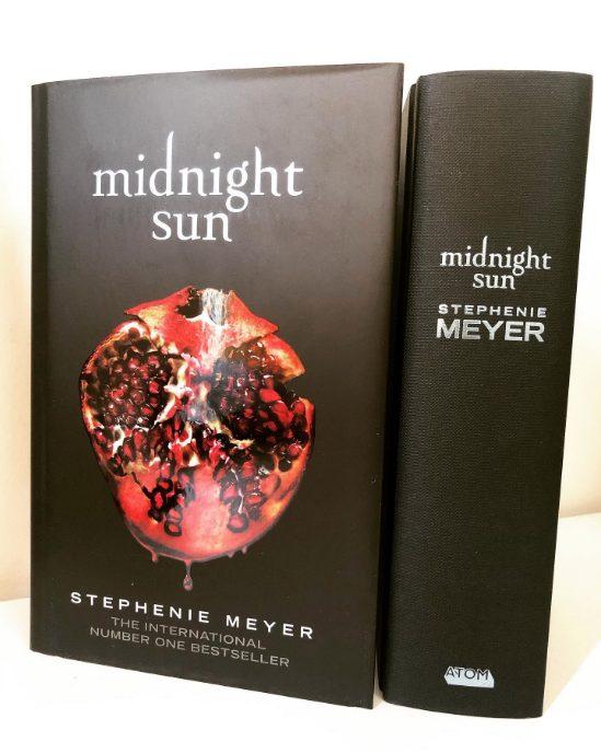 Libro Midnight Sun Crepúsculo