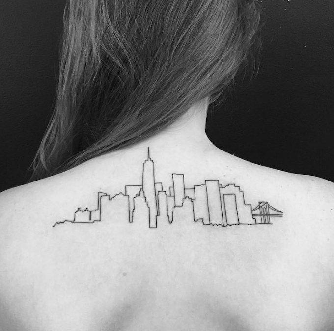 ideas tatuajes inspirados arquitectura
