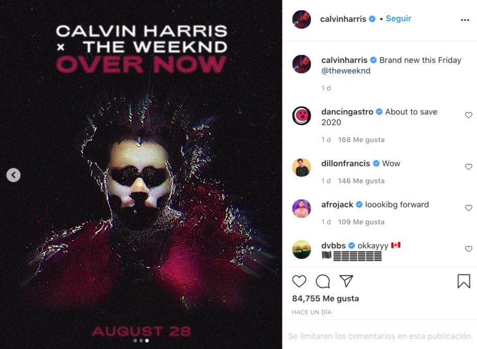 the Weeknd Calvin Harris