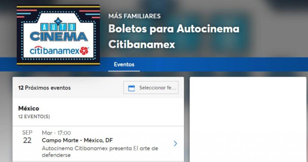 Autocinema-Citibanamex-Chapultepec
