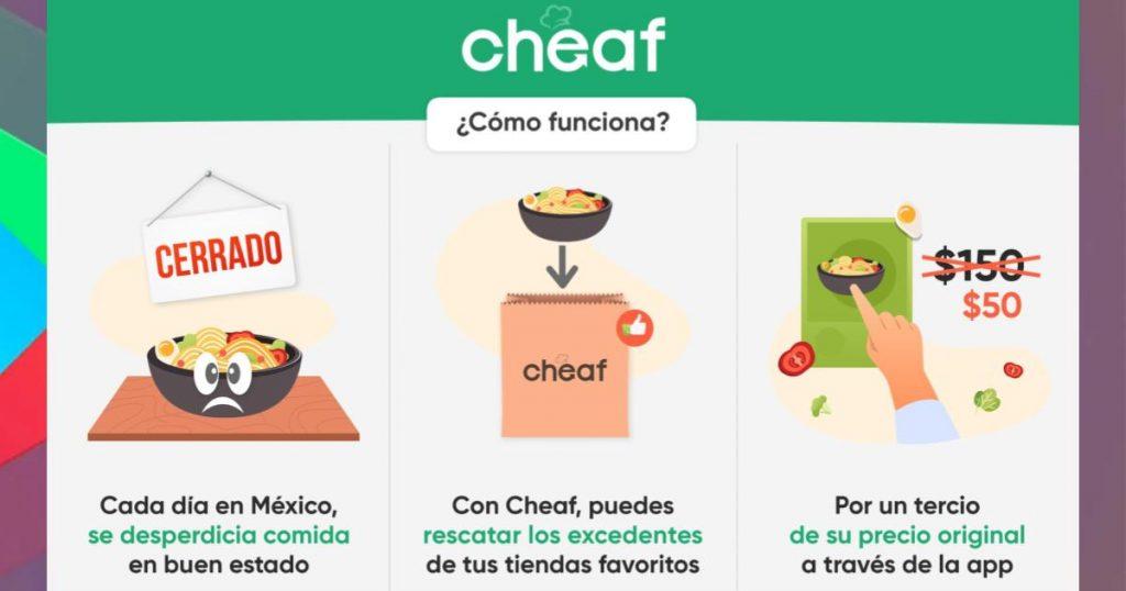 Cheaf-app-rescatar-comida-restaurantes