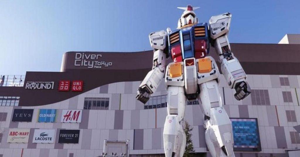Gundam RX-78-2-robot-primeros-pasos-Japón