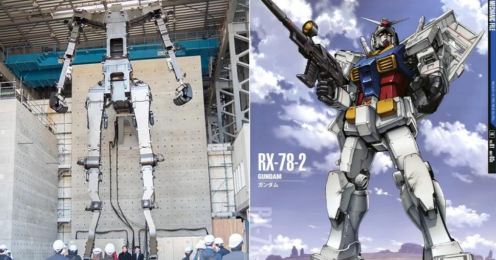 Gundam RX-78-2-robot-primeros-pasos-Japón-2
