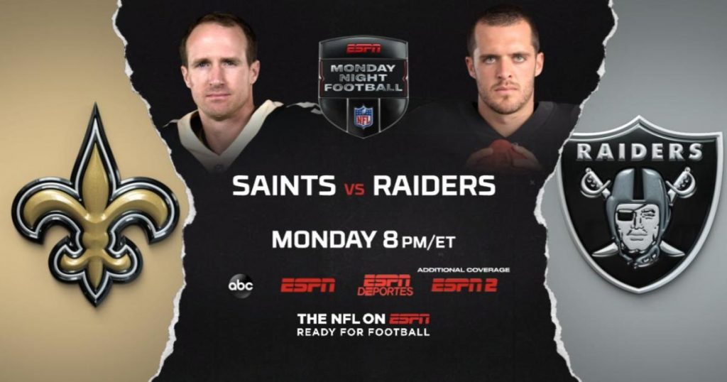 Las-Vegas-Raiders-VS-Saints-New-Orleans