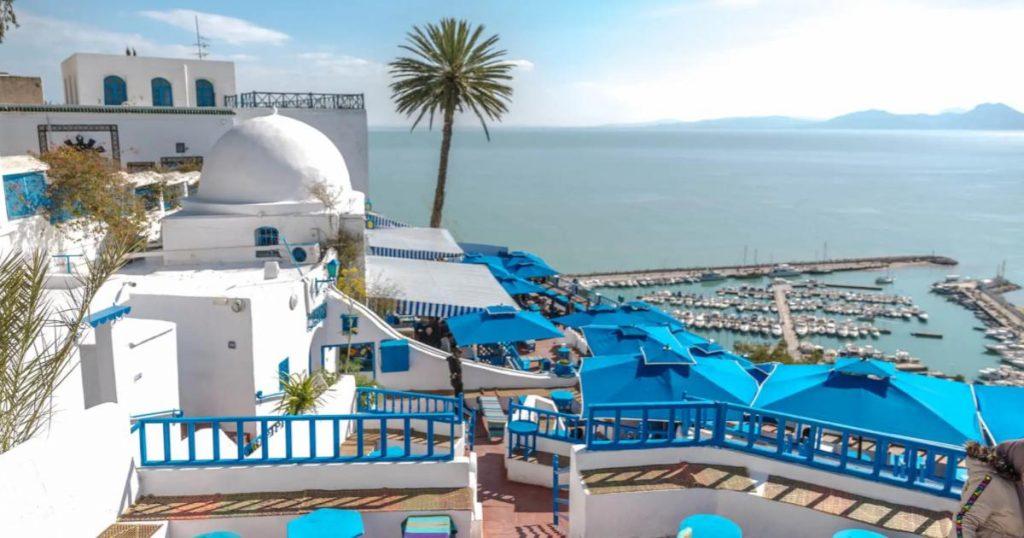 Playa-en-Túnez