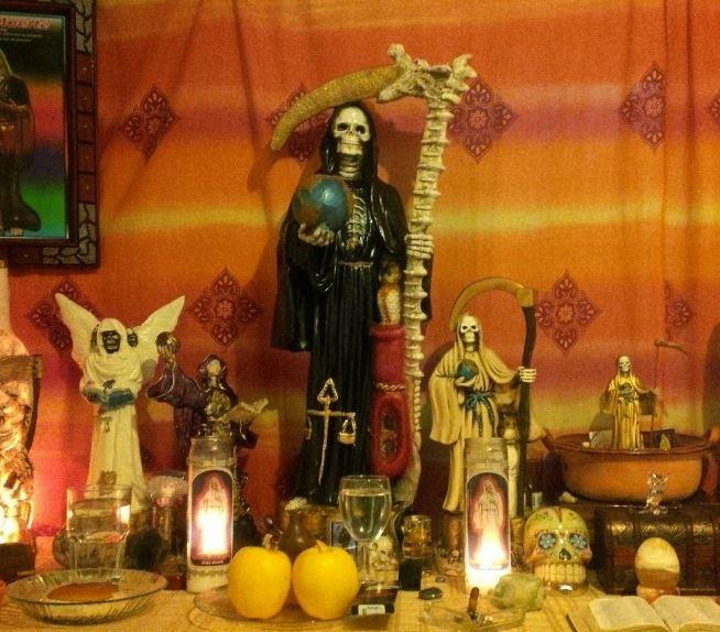 altares de la Santa Muerte en la CDMX