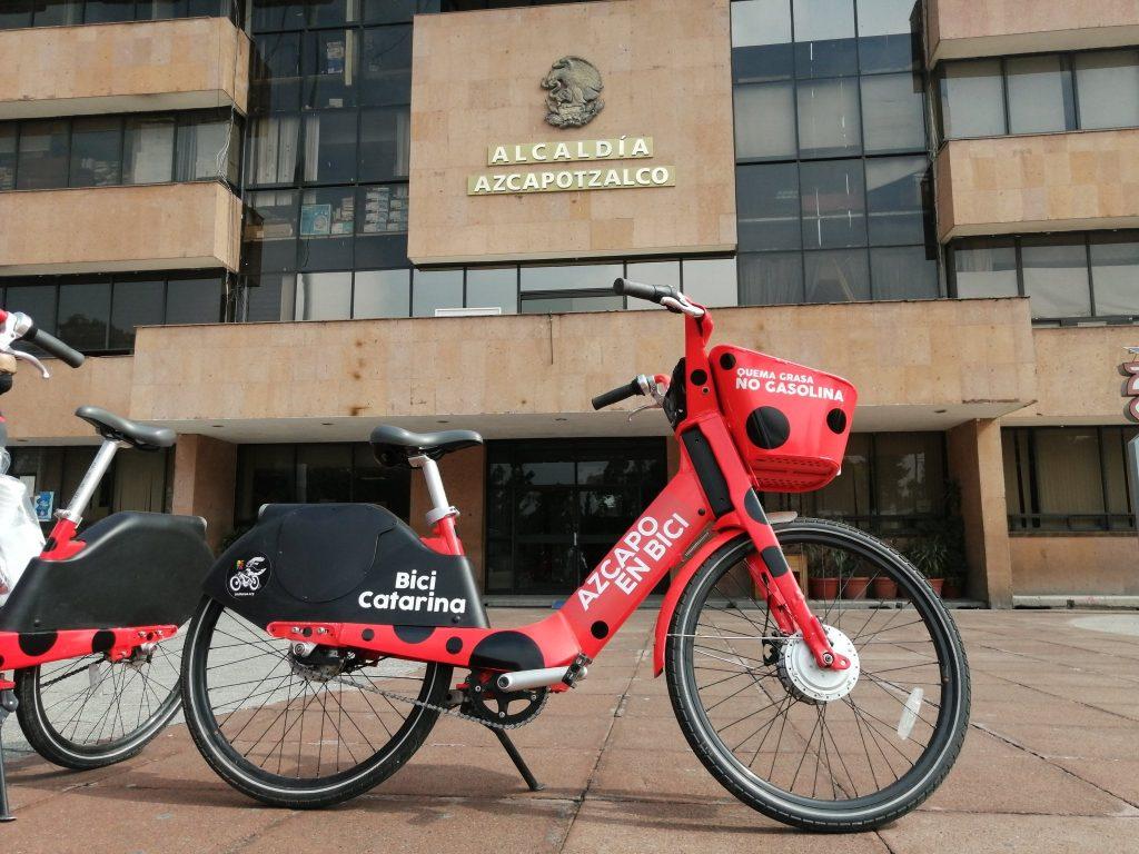 Bici Catarinas bicicletas Azcapotzaclo