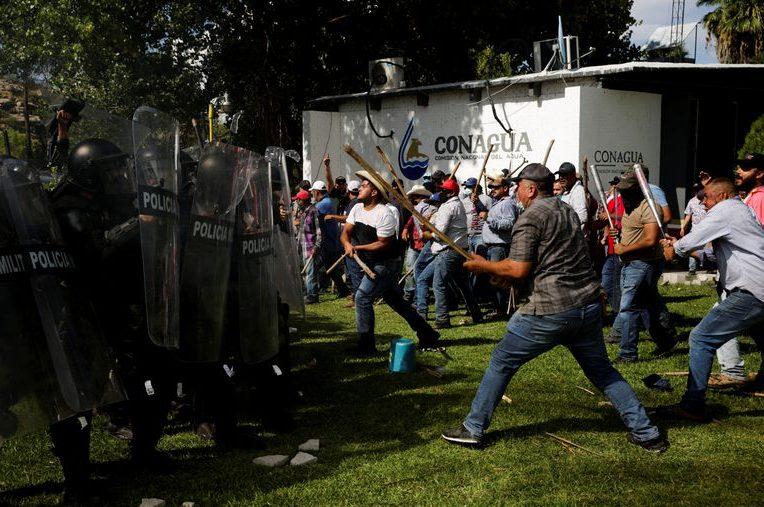 Qué está pasando lucha agua Chihuahua