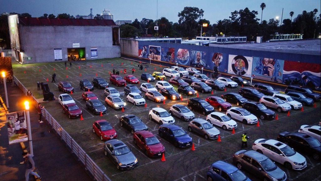 Cinemex autocinema Arena Ciudad de México cartelera