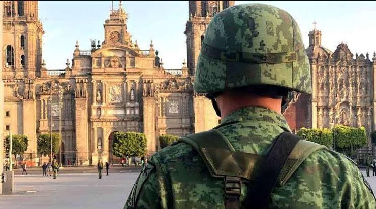 ejército tomó Catedral Ciudad de México
