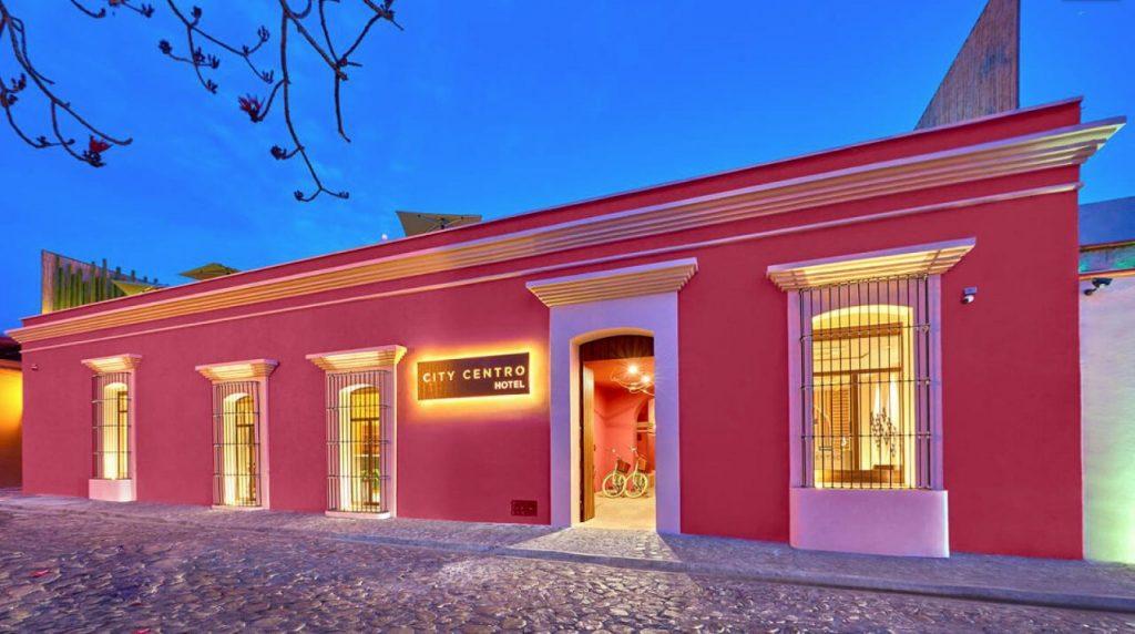 hotel rosa Oaxaca