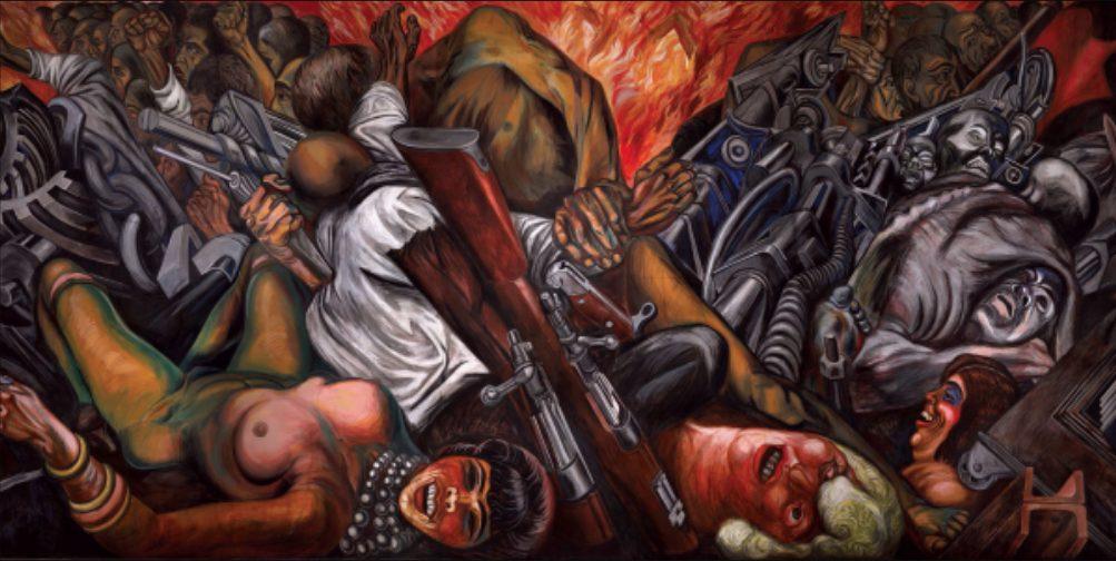 mejores murales José Clemente Orozco