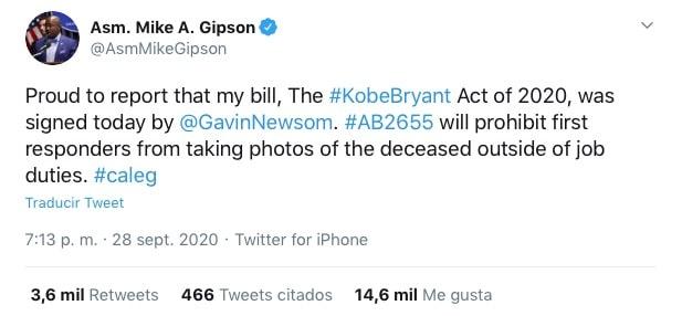 qué es Ley Kobe Bryant