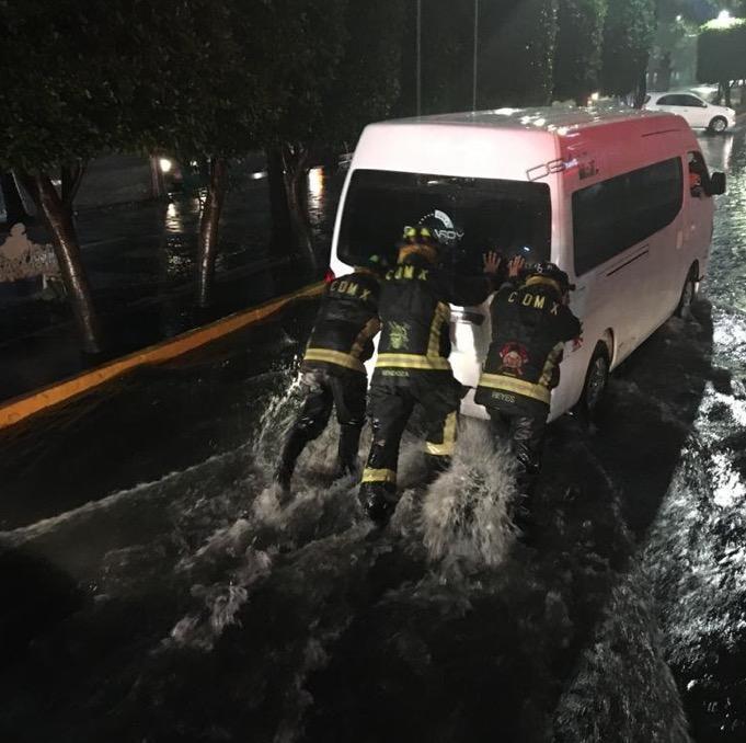 lluvias intensas cdmx afectaciones
