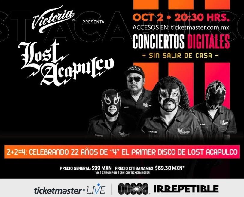 Lost acapulco concierto