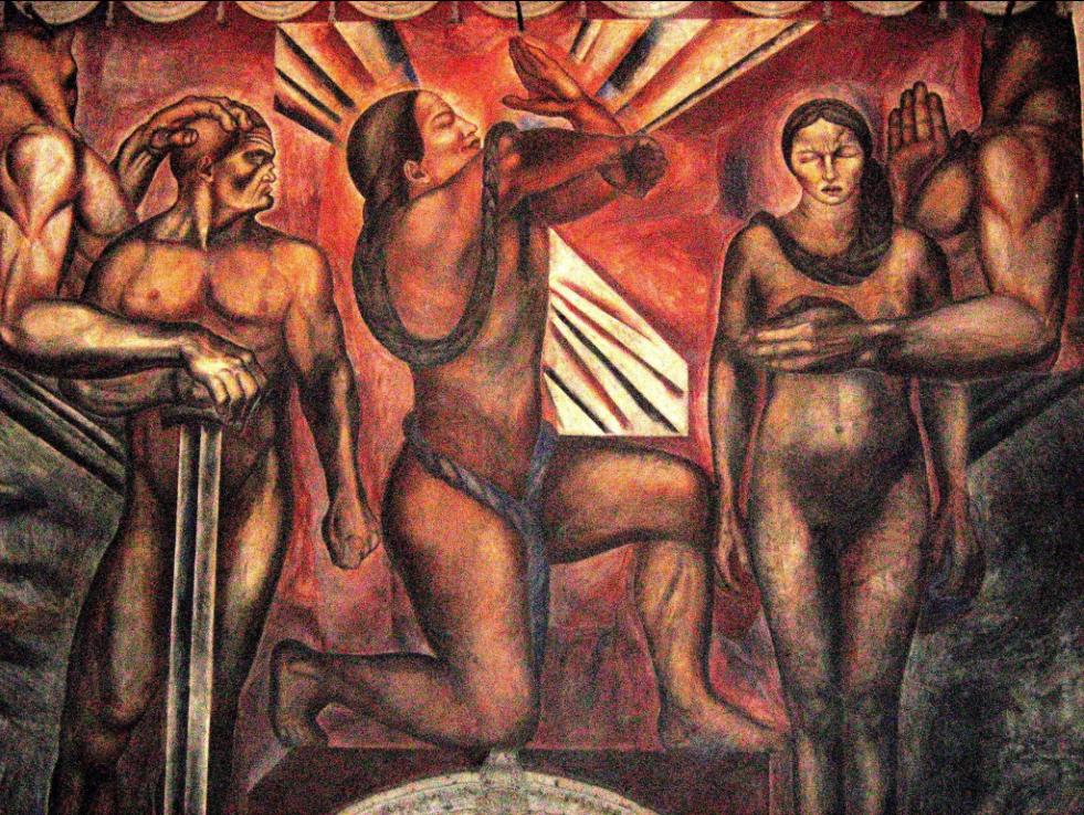 mejores murales Clemente Orozco