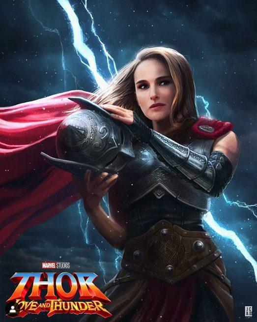 Natalie Portman Thor Love and Thunder