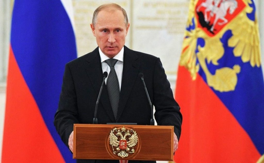 Vladimir Putin nominado nobel paz
