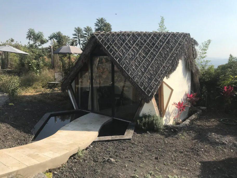 cabañas geométricas Tepoztlán