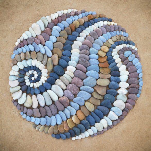 land art Jon Foreman esculturas piedras