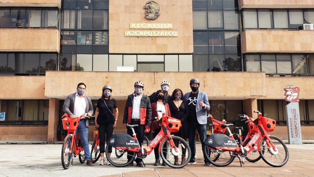 bici catarinas préstamo Azcapotzalco