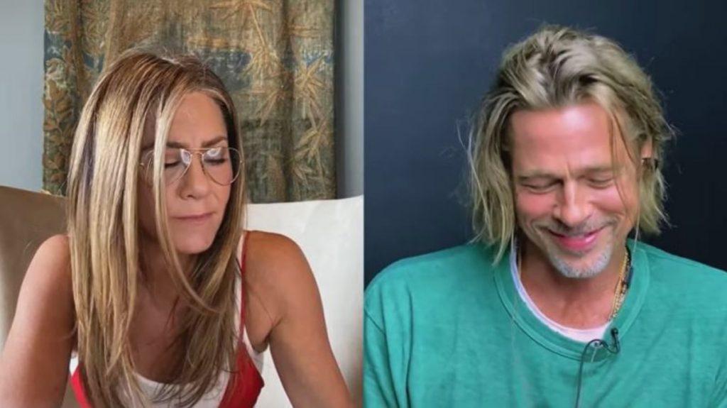 reencuentro Brad Pitt Jennifer Aniston