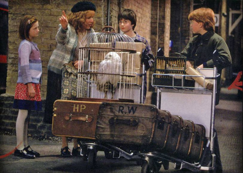 regreso a clases hogwarts Harry Potter