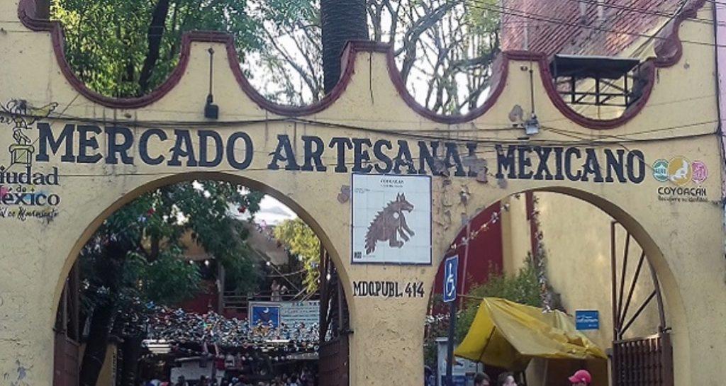 Mercado artesanía Coyoacán horario
