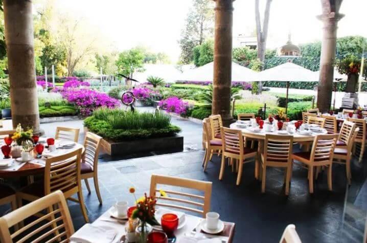 Restaurantes con jardines (escondidos) en la CDMX