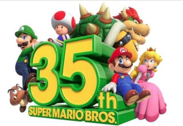 super Mario Bros 35 aniversario