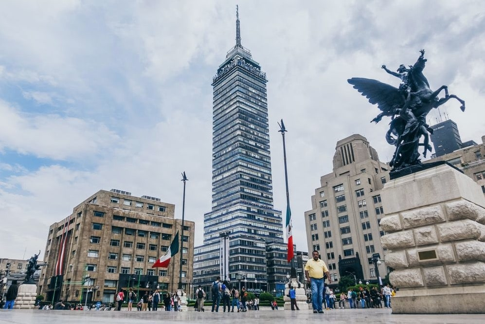 Torre Latinoamericana Latino abrió puertas