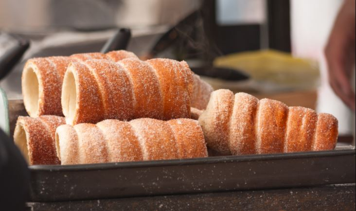 ¿Habías escuchado hablar del Trdelník o pan de chimenea?