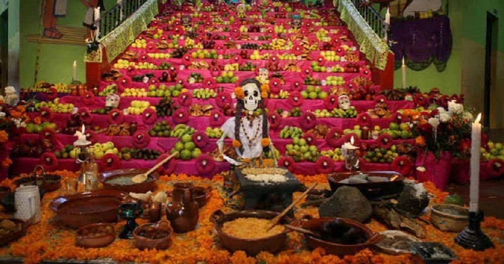 Altar-Día-de-Muertos-San-Andrés-Mixquic