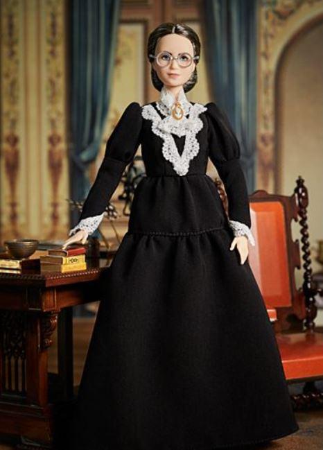 Barbie lanza muñeca inspirada en Susan B. Anthony
