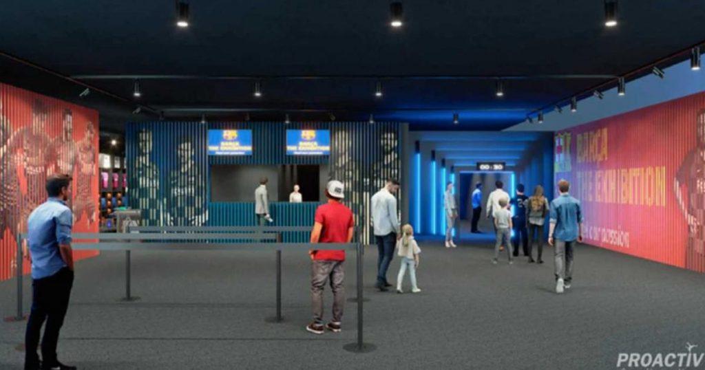 Barça-The-Exhibition-Feel-our-passion-Área-de-bienvenida