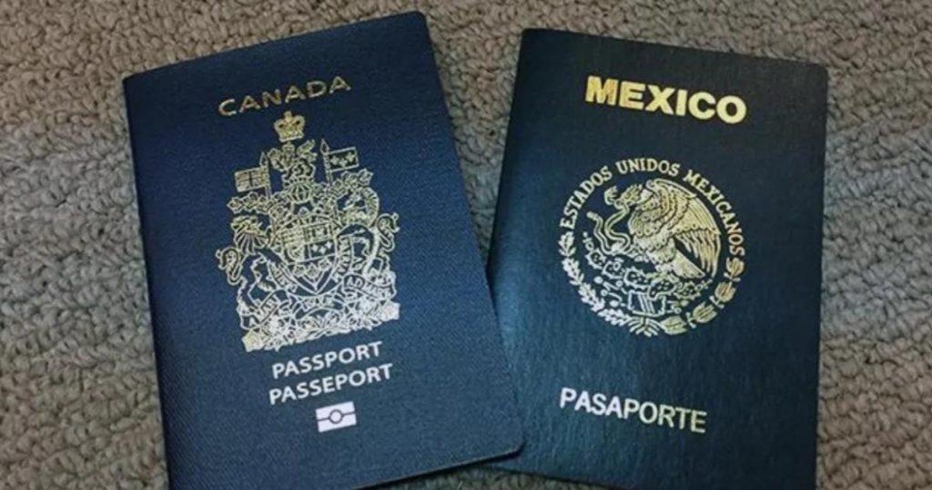 Qué-necesito-para-viajar-a-Canadá-desde-México-Pasaportes