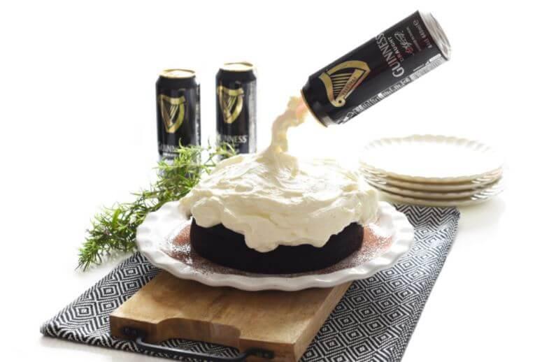 Receta de Pastel de chocolate con cerveza