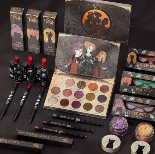 Lanzan colección de maquillaje de Hocus Pocus