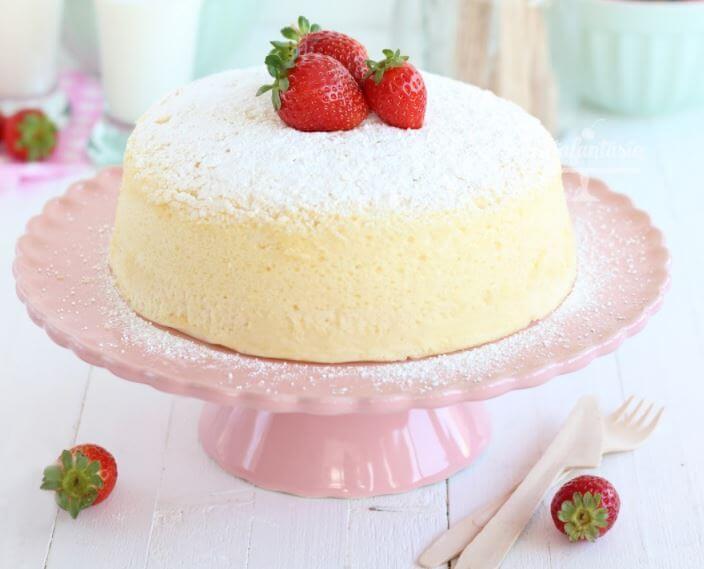 Receta para hacer un cheesecake japonés suave y esponjoso