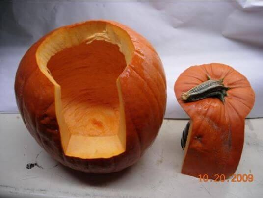 ¿Cómo se hace una calabaza para Halloween?