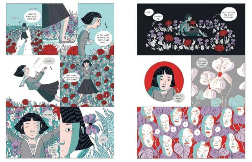 Yayoi Kusama ya tiene su propia novela gráfica