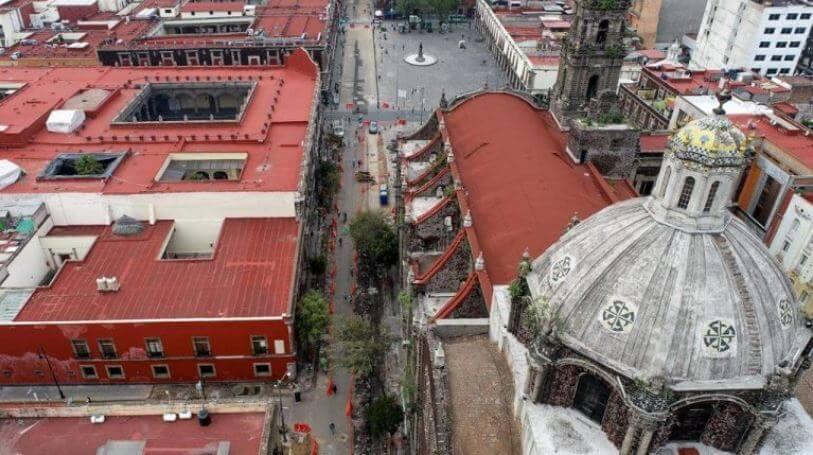 Nuevos espacios peatonales en el Centro Histórico de la CDMX