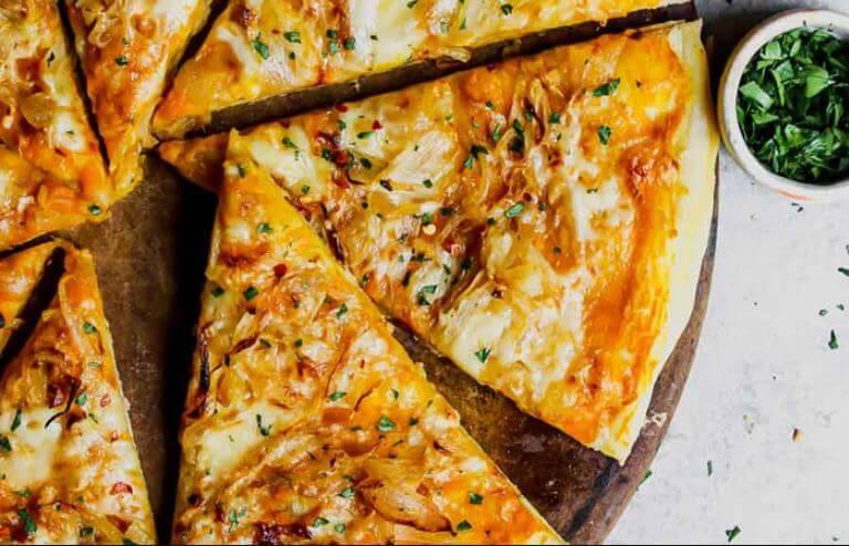 Receta de pizza con calabaza
