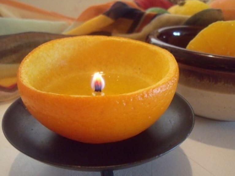 Usos que le puedes dar a la cascara de naranja