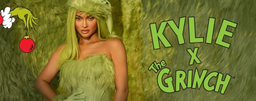 Kylie Jenner lanza colección de maquillaje del Grinch para Navidad