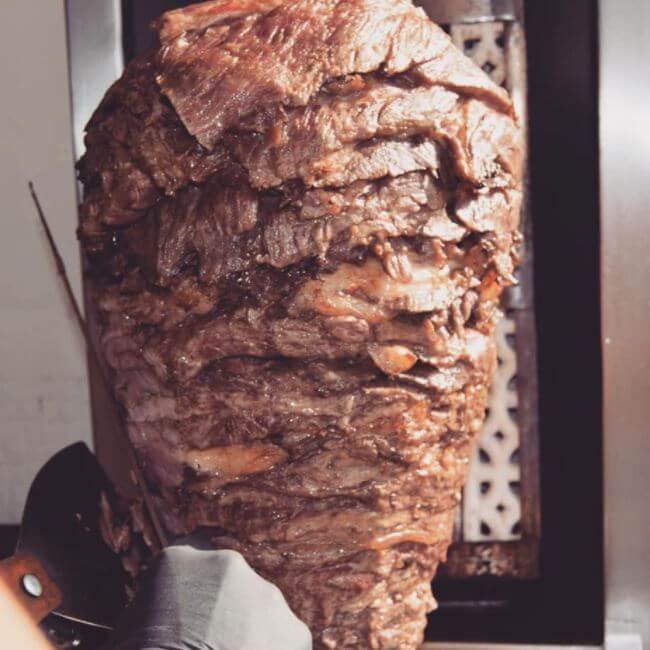 La Sirlonería y sus tacos de Sirloin cocidos al trompo